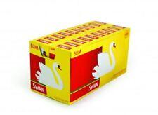 Swan Slim Prédécoupés Filtre Embouts Complet Boîte de 20
