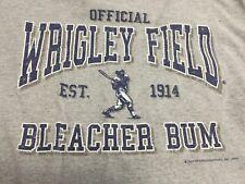 Wrigley Field Bleacher Bum Chicago Cubs Shirt size Large