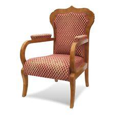 Biedermeier Stuhl Armlehnstuhl Salonstuhl antik