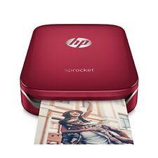 Hp sprocket Stampante fotografica istantanea portatile Rosso 5 x 7.6 cm