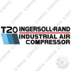 Ingersoll Rand T20 Decal Kit Air Compressor Replacement Decal (T 20) - BLUE
