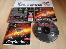 PLAY STATION PS1 PSX STAR TREK INVASION COMPLETO PAL ESPAÑA
