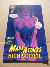 Mars Attacks : High School Special   2 of 2  .  Topps 1997 -  FN / VF