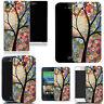 For Various Mobile Phones Design Hard Back Case Cover - floral tree