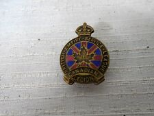 British Empire Service League Canada Legion Numbered Bronze Pin Scully Military