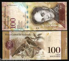 VENEZUELA 100 BOLIVARES UNC # 910