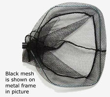 "Replacement BLACK Mesh Bag for 11"" Square Hoop - Fits Professional Aquatic Net"