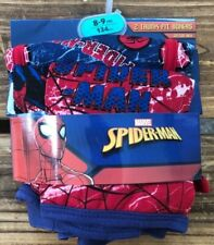 Marvel Spider-Man  Boys 2Pk Boxers Underwear UK Size Age 8-9 Years