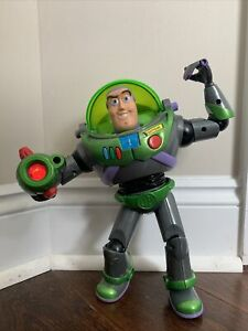 "Buzz Lightyear Nightmare Nighttime Rescue Toy Story & Beyond 12"" Talking 2001"
