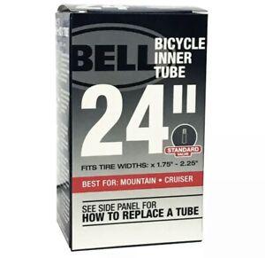 "🔥BELL 24"" UNIVERSAL BICYCLE BIKE INNER TUBE Standard Schrader Valve x1.75-2.25"""