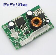 12V to 5V to 3.3V Voltage Conversion Module BENQ 12V-5V-3.3V Power Board
