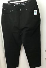 LRG Lifted Research Group Baggy  Taper Fit  Black Jeans Size 36 L-R-G NWT