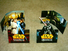 STAR WARS EPISODE III Set-of-4 Mini Standees (Rare!)
