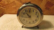 Old Lux Time Juliet Alarm Clock - Peg Leg