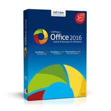 SoftMaker Office Standard 2016, Word Processor, Spreadsheet Program, Presentatio