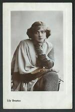 Lily Brayton -  cartolina d'epoca