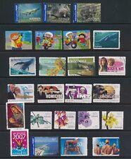 AUSTRALIA,  2006-2007 several stamps Fine Used (N)