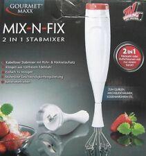 Gourmet Maxx 2 in1 Stabmixer Handmixer Mixer Pürierer Zerkleinerer TV Werbung