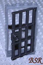 SK143) 1 Stück Gitter Tür & Rahmen dunkel grau / silber 1x4x6 & unbespielt !