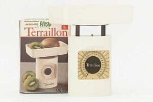 (NUOVA!) Bilancia Terraillon DE 500 Bio Presto vintage anni 80