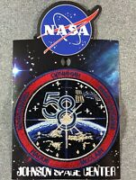 "NASA EXPEDITION 58 MISSION PATCH Official Authentic SPACE 4"" USA"