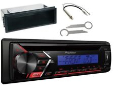 Pioneer DEH-S100UBB MP3 USB AUX CD Set montaje para VW GOLF PASSAT B5 BORA T4