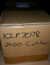 KIP 2900 CUTTER.  70781  NEW IN FACTORY BOX