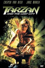 TARZAN AND THE LOST CITY rare Action dvd CASPER VAN DIEN Jane March 1998