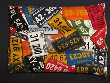 """USA License Plate Collage Rice Hot/Cold  Microwaveable Therapy Pack 10"""" x 6"""""""
