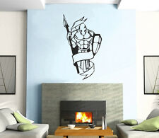 Knight Soldier  Warrior Decor Mural Wall Art Decor Vinyl Sticker z393