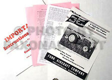 Ford 8n Tractor 8 Cylinder Engine Funk Conversion Instructions 1948 1952
