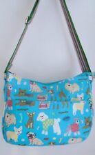 Dog Print Bag - Turquoise