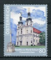 Austria 2018 MNH Basilica Nativity of Mary Frauenkirchen 1v Set Churches Stamps