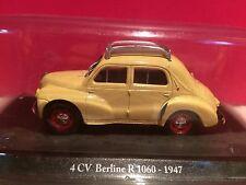 ELIGOR SUPERBE RENAULT 4CV  BERLINE 4 1060 1947 1/43 NEUF SOUS BLISTER H5