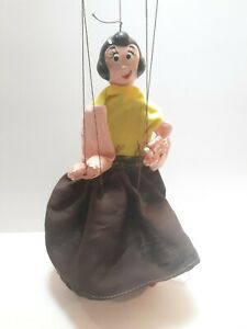 Vintage Olive Oil Marionette Puppet Made in  Mexico