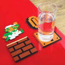 Set di 20 SUPER MARIO BROS.. UFFICIALE EDIZIONE PER COLLEZIONISTI bevande Coasters