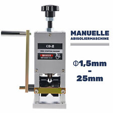 Kabelschälmaschine Kabel Schäler Abisoliermaschine Kabelabisoliermaschine 25 mm