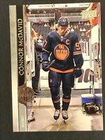 2020-21 Upper Deck Series 1 # 73 Connor McDavid Edmonton Oilers 🔥