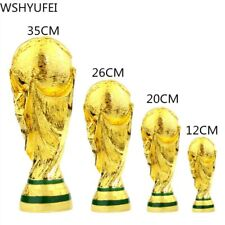 2022 europeo Resina Dorata Del Mondo di Calcio Trofeo Della Mascotte
