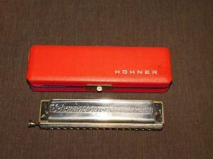 VINTAGE HOHNER HARMONICA CHROMONICA 64 C PROFESSIONAL MODEL 4 OCTAVES IN BOX