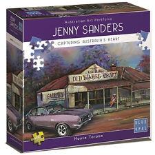 NEW Blue Opal Jigsaw Puzzles Deluxe 1000 Piece MAUVE TORANA by Jenny Sanders