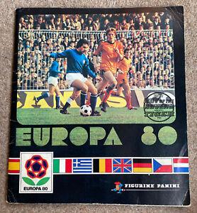 Panini Europa 80 Sticker Album 94% Complete