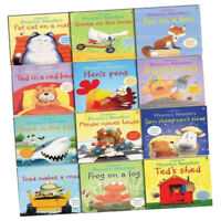 Usborne Phonics Young Readers 12 Picture Books Collection Set Synthetic Learning