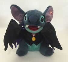 "Disney Lilo & Stitch Vampire Talking Plush Toy No Motion Halloween Toy 12"" Cape"