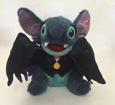 "Disney Lilo & Stitch Vampire Talking Plush Toy No Motion Halloween Toy 12"" Cape"