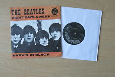 """THE BEATLES Eight Days A Week Orig Dutch 7"""" in picture sleeve Parlophone 1965"""