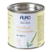 Auro Wandlasur-Pflanzenfarbe 375 ml Krapp-Rot (Blauton)