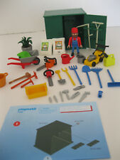 PLAYMOBIL 7490 - Shed with Garden Tools