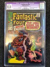 Fantastic Four #66 VF CGC 8.0 2 Part Origin of Him (Warlock)