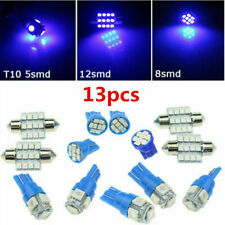 13x Auto Car Interior LED Lights For Dome License Plate Lamp 12V Kit Access